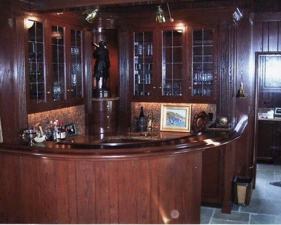 Custom home bar by vyen furniture for Unique home bars
