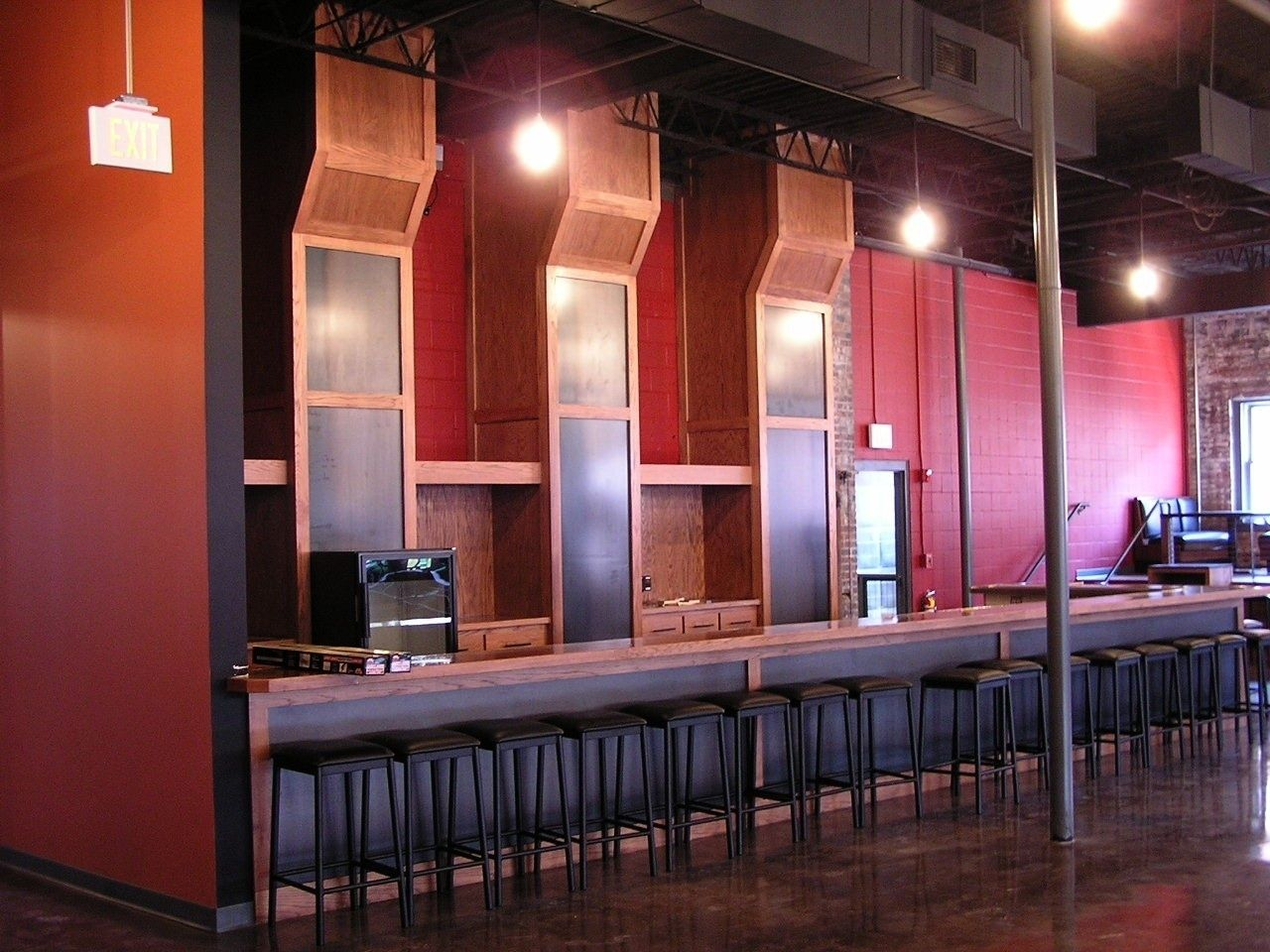 Custom Commercial Bar 3 By Monarch Cabinetry