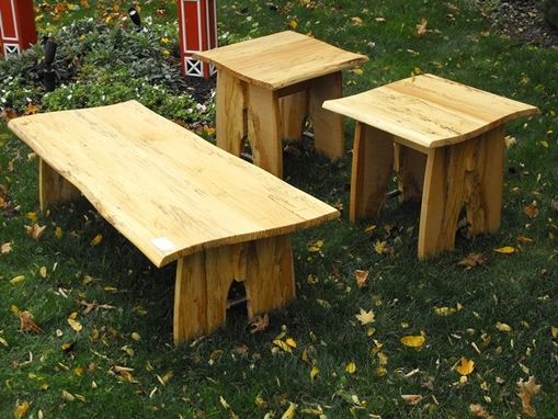 Custom Made Living Room Table Set