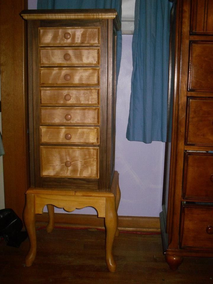Hand Made Jewelry Armoire by Woodplank Wishes & Sawdust ...