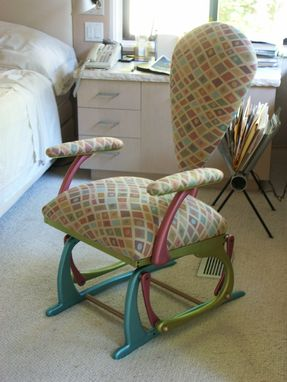 Custom Made Glider Rocking Chair