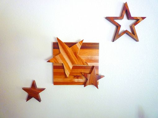 Custom Made Wood Stars