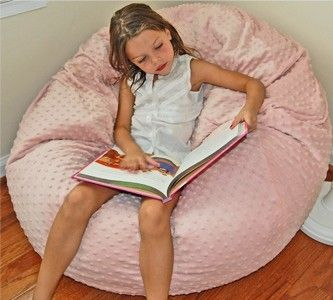 Hand Crafted Custom Washable Bean Bag Chairs 37 Inch Wide