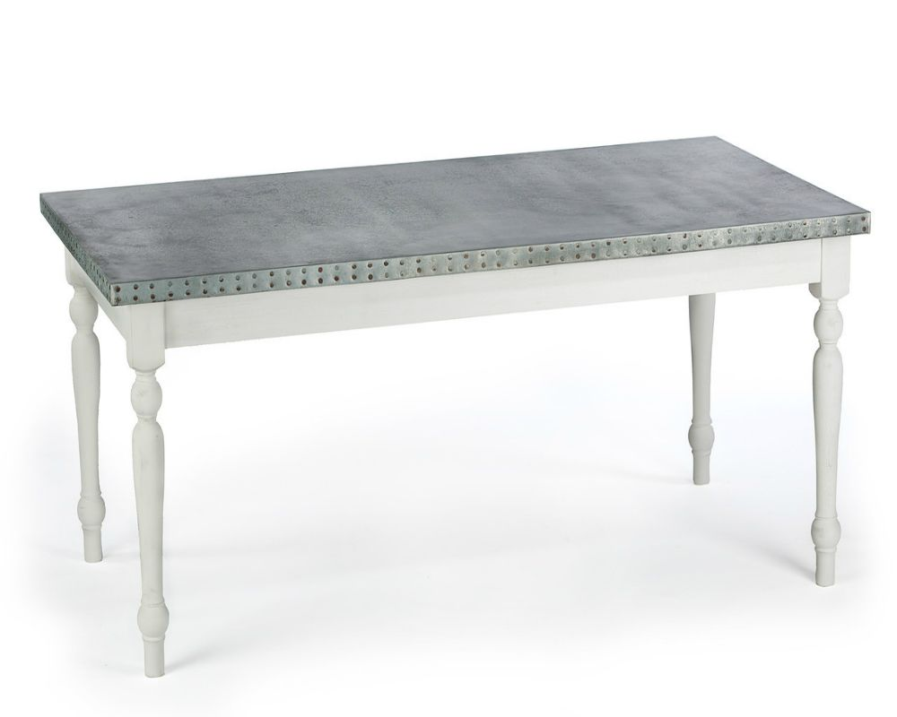 Buy a Hand Made Zinc Table Zinc Dining Table The  : 140541995471 from www.custommade.com size 1000 x 800 jpeg 34kB