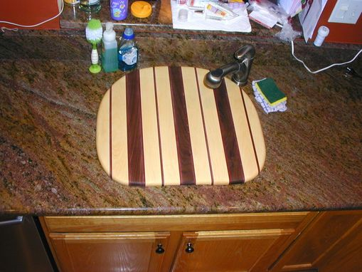 Custom Made Over-The-Sink Cutting Board