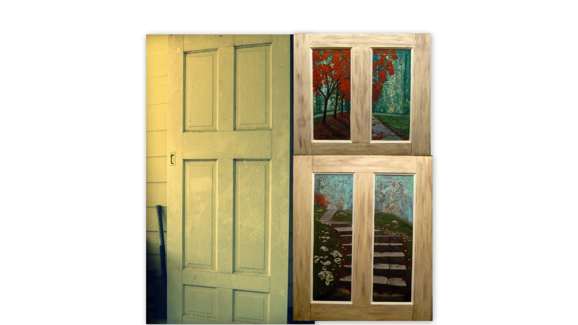 1080 #6E381D Custom Made Reclaimed Door By Awe Inspiring Art CustomMade.com save image Custom Made Entry Doors 45471920