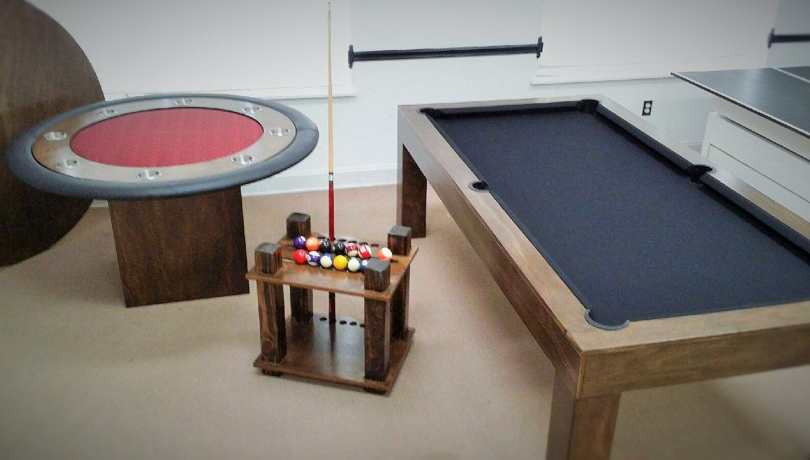 Buy A Handmade 8ft Conversion Pool Table With Ping Pong