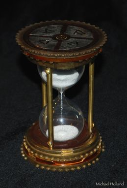 Custom Made Steampunk Hourglass