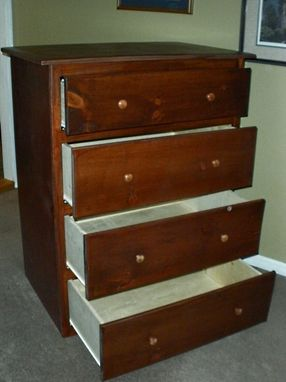 Custom Made Twin Over Queen Bunk Bed Suite With Staircase Storage And Dresser