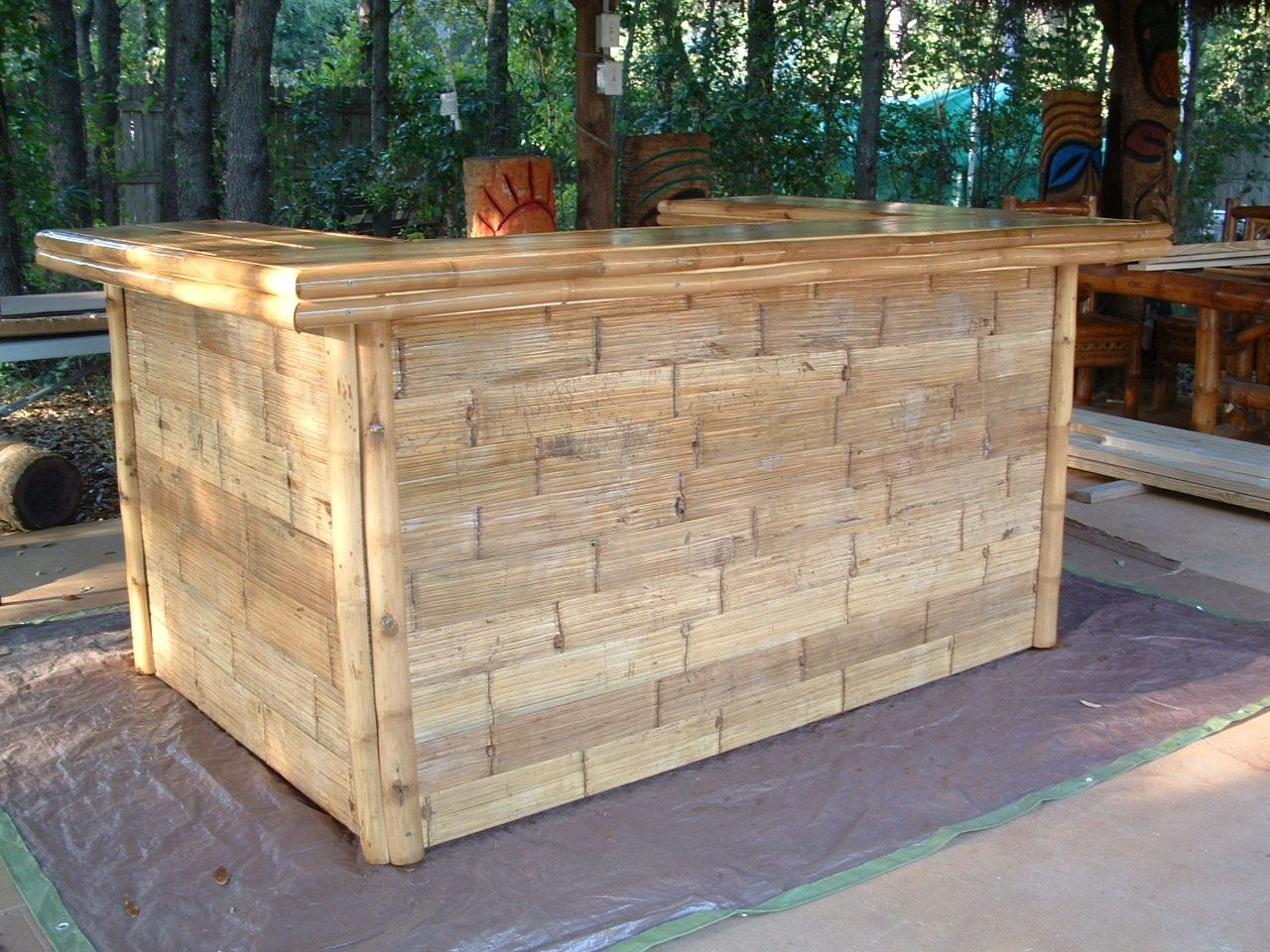 Hand Crafted Suncoast Tiki Huts Custom Bars By Suncoast