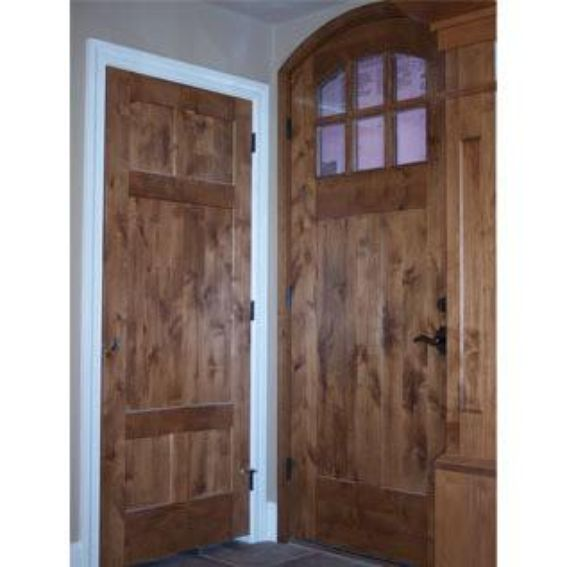 Alder made and david wright gay for Custom made doors