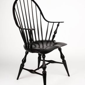 Hand Made Rhode Island Continuous Arm Chair By Jeff Koopus