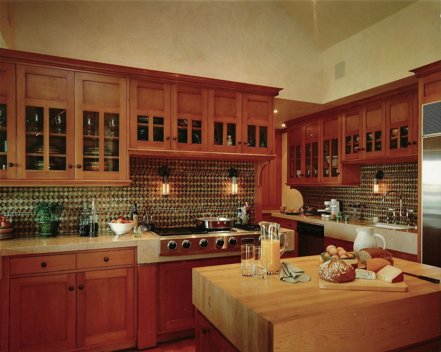 Custom An Arts And Crafts Kitchen By Steepleview Cabinetry