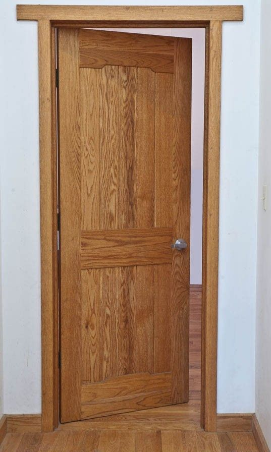 Handmade Interior Craftsman Pasadena Green Bros Style Oak Door By Jefferson Crafts