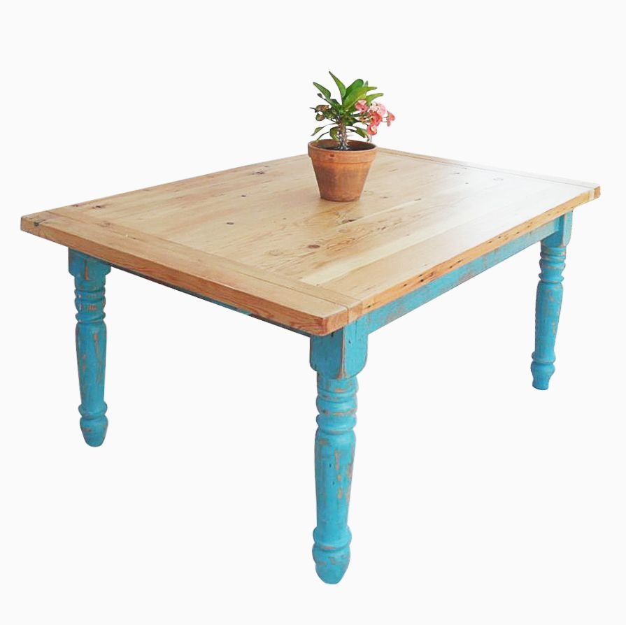 Custom Kitchen Tables: Buy A Custom Made Reclaimed Wood Farmhouse Dining Table