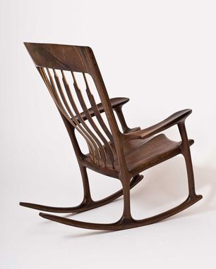 hand crafted george washington rocking chair by hal taylor