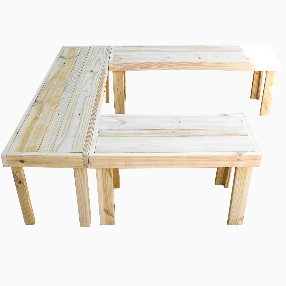 Buy Hand Made U Shaped Handmade Benches Made To Order From The Stockton Mill