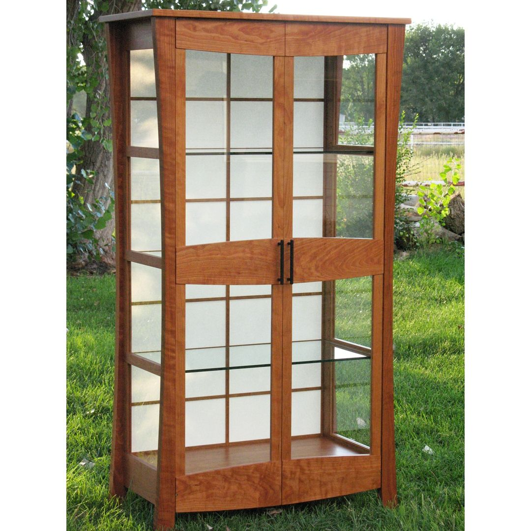 Hand made display cabinet by brightworks custom furniture - Custom display cabinets ...