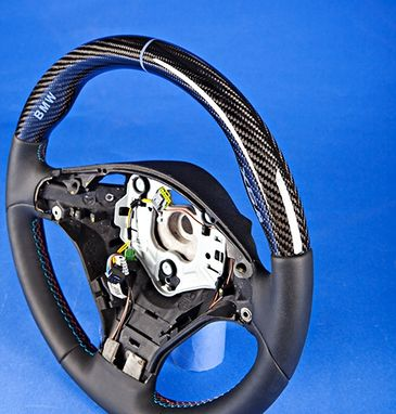 Custom Made Bmw X6m – Custom Carbon Fiber Steering Wheel