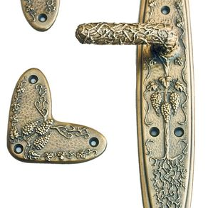 Custom home hardware - Cellar door hinges ...