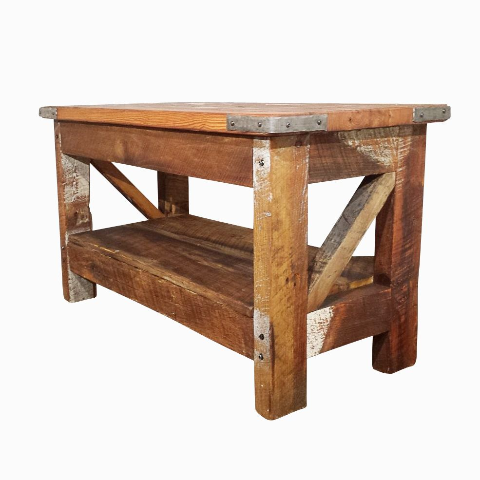 Buy a hand made saloon style western coffee table made to for Western dining room tables