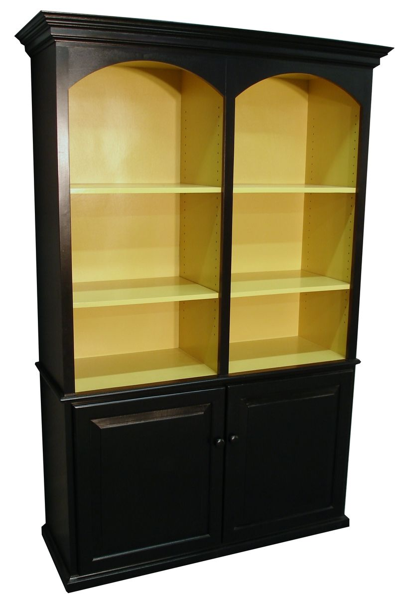 Handmade Custom Painted Bookcase By Durham Bookcases