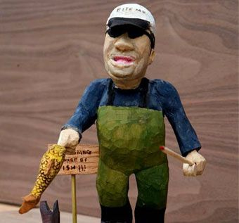 Custom Made Caricature Carvings
