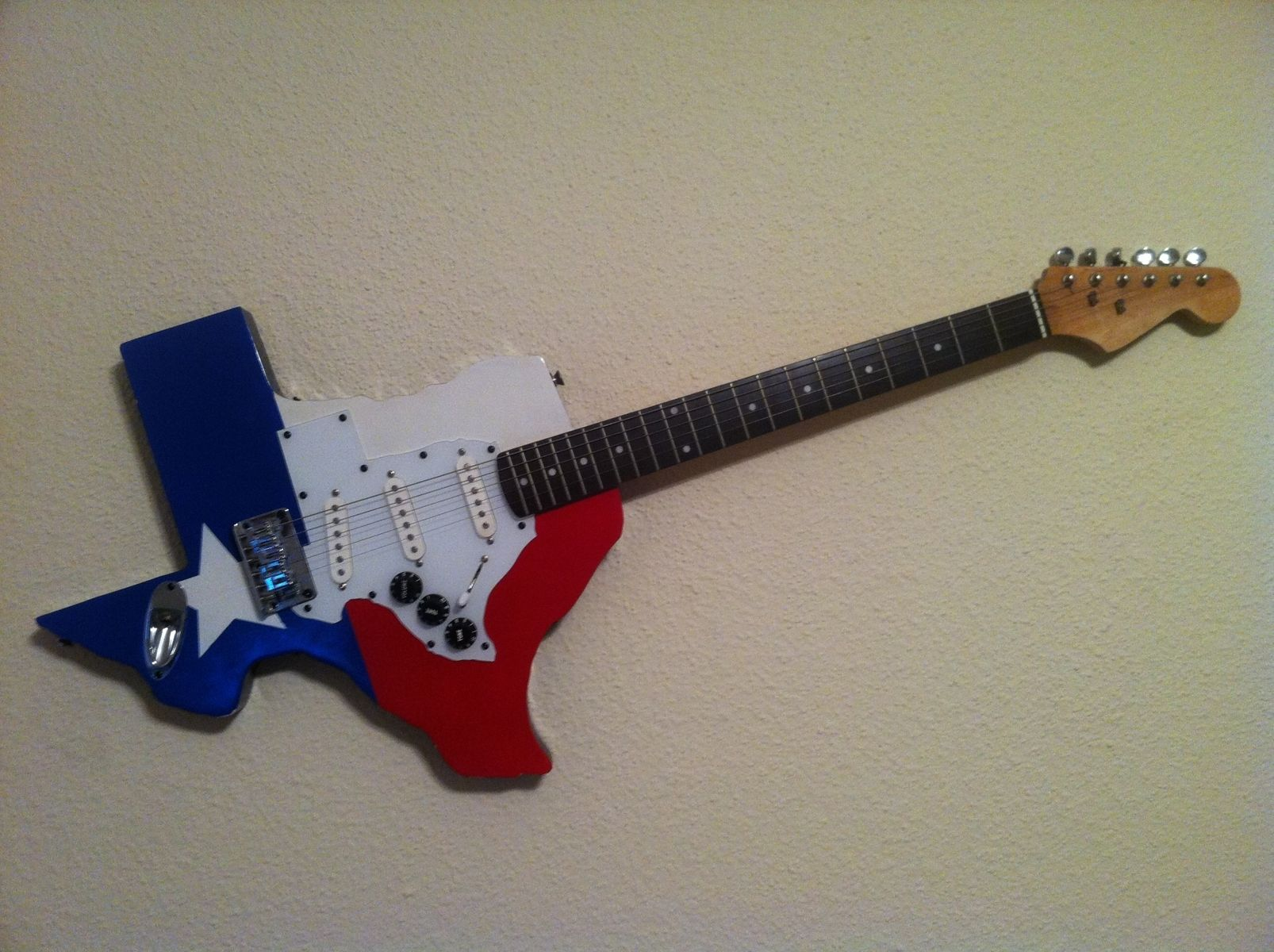hand crafted texas guitar by myers woodworks. Black Bedroom Furniture Sets. Home Design Ideas
