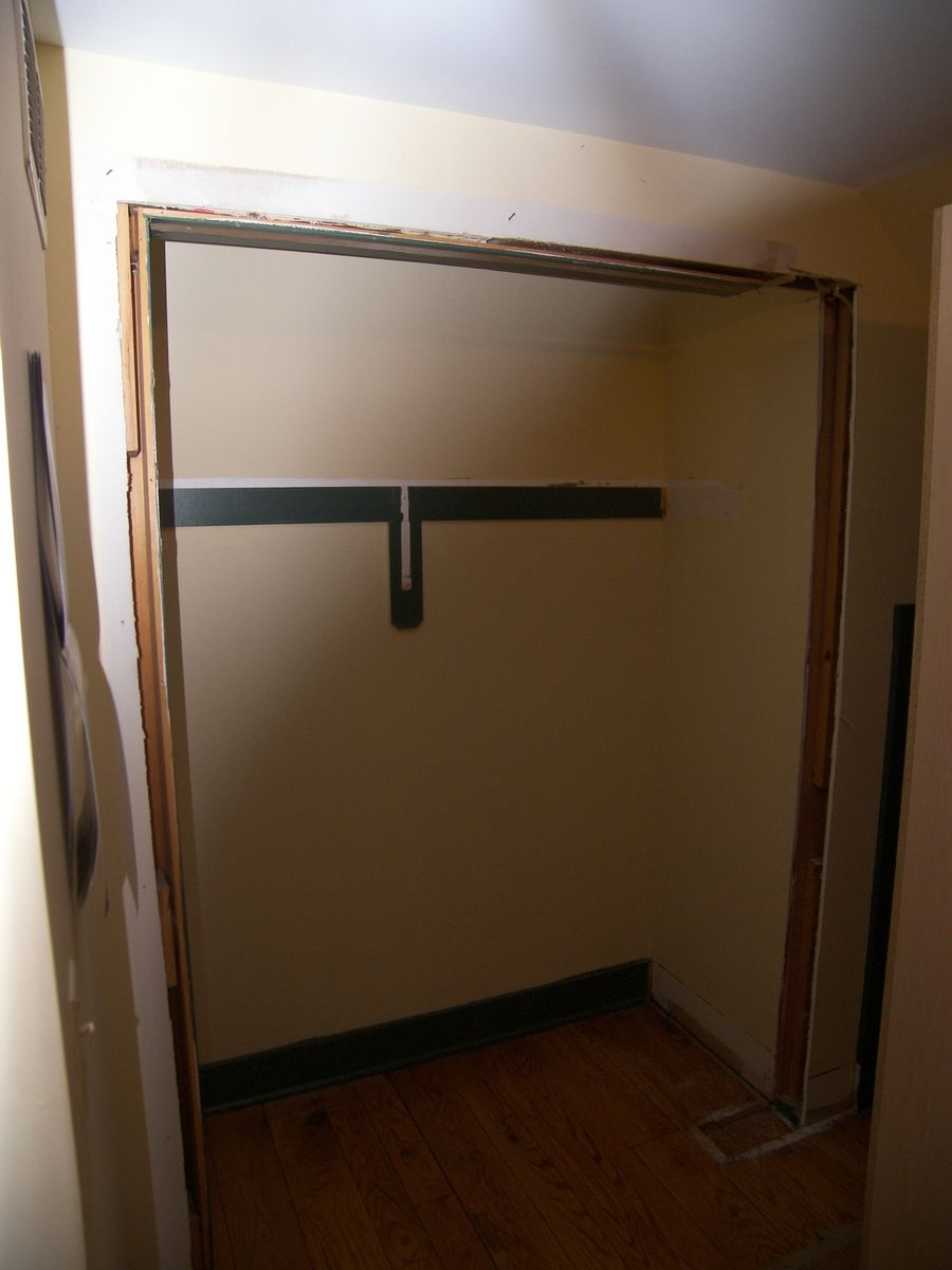 Hand Made Bedroom Closet Converted Into An Armiore By Edko Cabinets Llc
