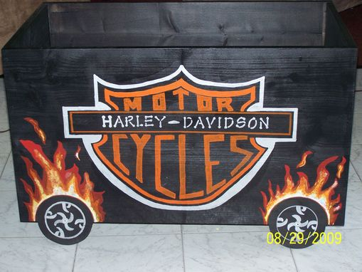 Custom Made Custom Painted Toyboxes