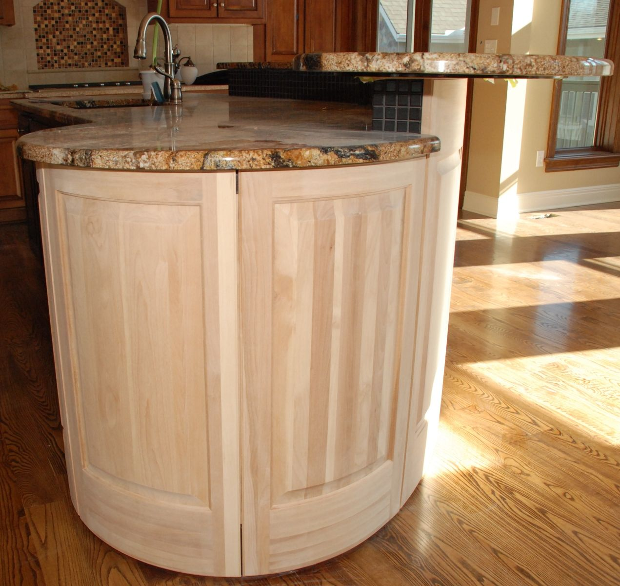 35 Kitchen Island Designs Celebrating Functional And: Hand Crafted Radius Kitchen Island By Belak Woodworking