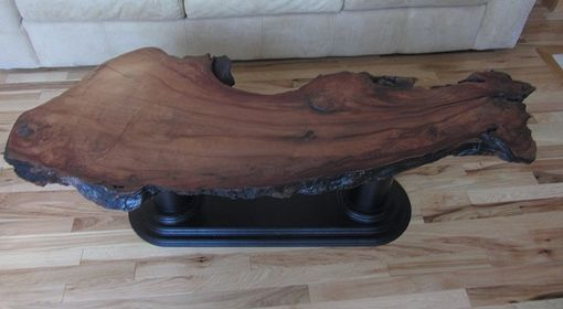 "Custom Made Redwood ""Island"" Accent Tables"