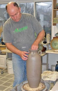 Custom Made Urns, Tall Vases, Amphora, Ancient Pottery Replicas