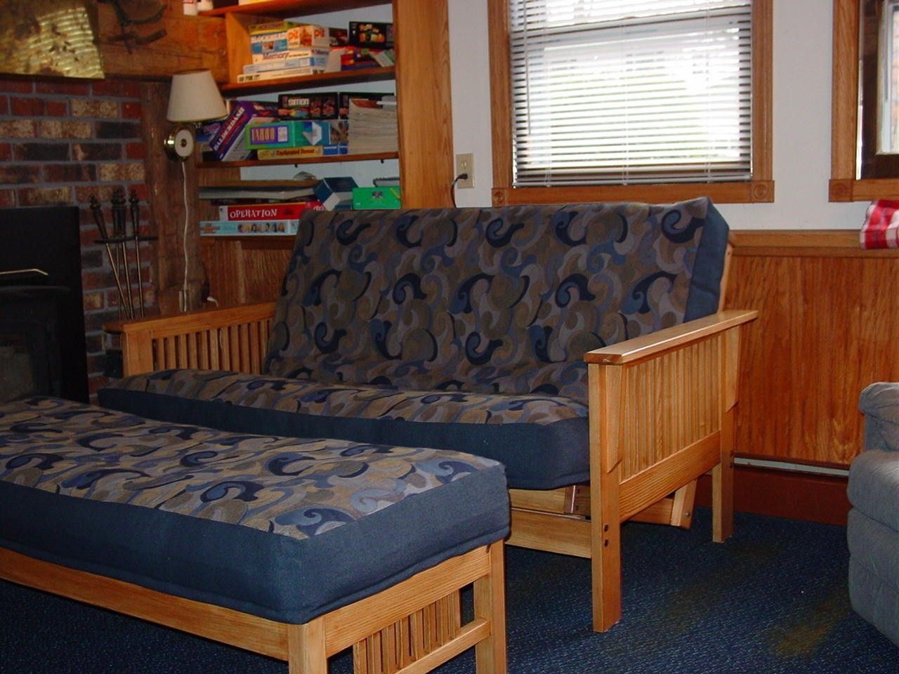 hand made mission craftsman style futon sofa bed by. Black Bedroom Furniture Sets. Home Design Ideas