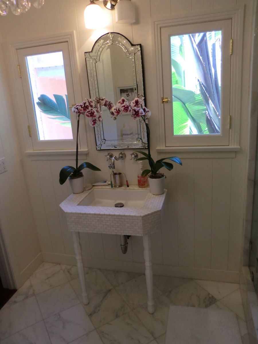 Hand Crafted Marble Bathroom W Steam Shower By Precision
