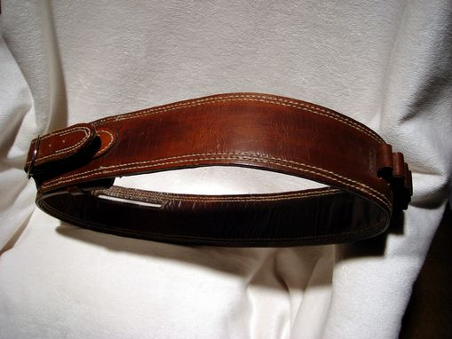 Custom Made Custom Leather Gun/Ammo Belt