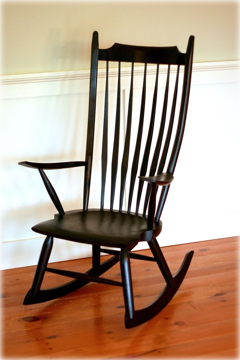 crafted windsor rocking chair by t kelly furniture
