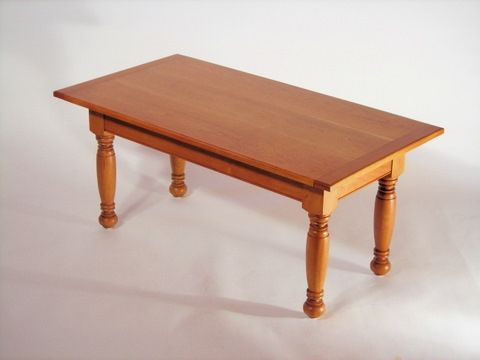 Custom Made Sheraton Style Coffee Table