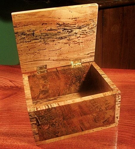 Hand Made Custom Wood Box By Wolf Creek Millworks