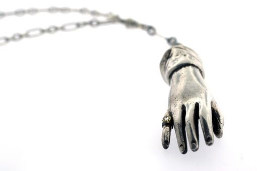 Custom Made The Rakish Hand Necklace