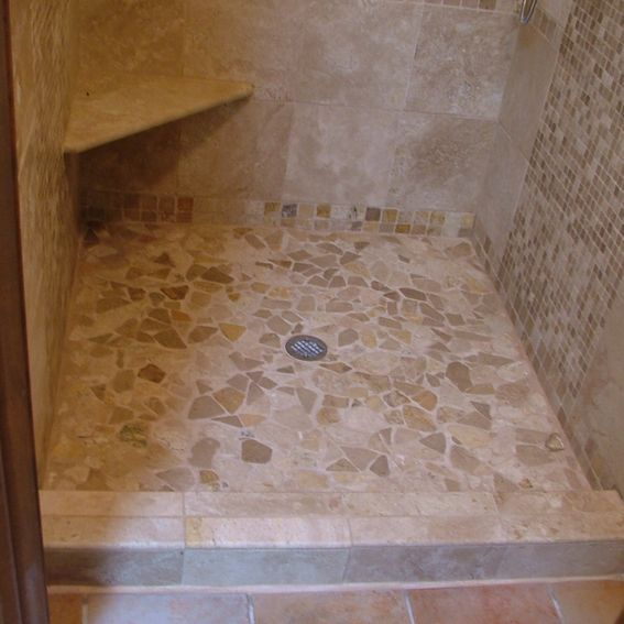 Custom Tile Work : Hand crafted custom tile work by lee remodeling inc