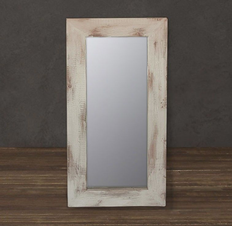 Custom reclaimed wood distressed mirror by jw atlas wood for Custom made mirrors