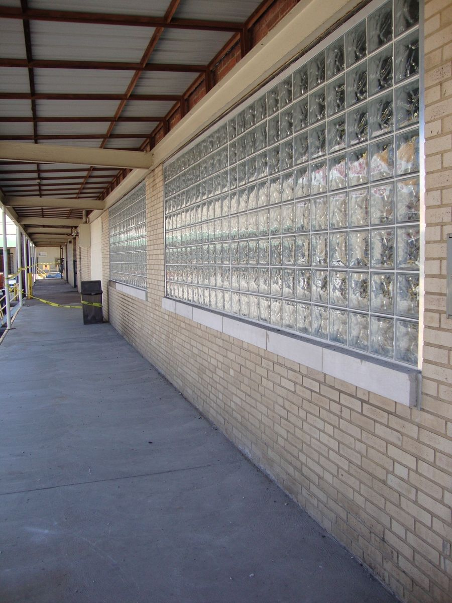 custom made commercial glass block windows by columbus glass block
