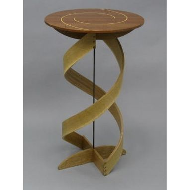 Custom Made Double Helix Plant Stand