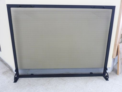 Buy Handmade Custom Fireplace Screens Made To Order From Iron It Out