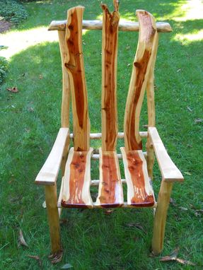 Custom Made Rustic Arm Chair