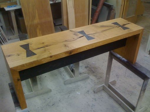 Custom Made Slab Bench