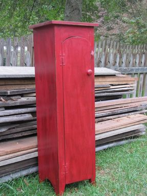 Custom Made Primitive Chimney Cupboard