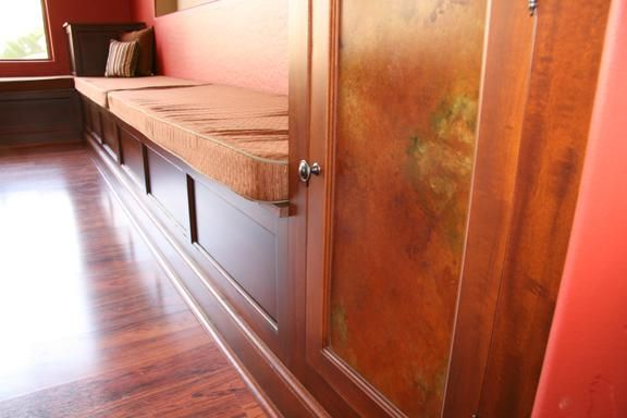 Handmade Built In Bench Seating With Storage By Ck Valenti