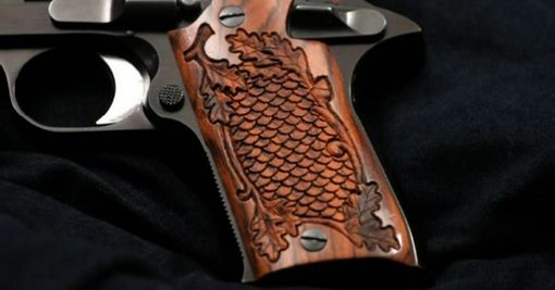 Custom Made Scale Design On Pistol Grips